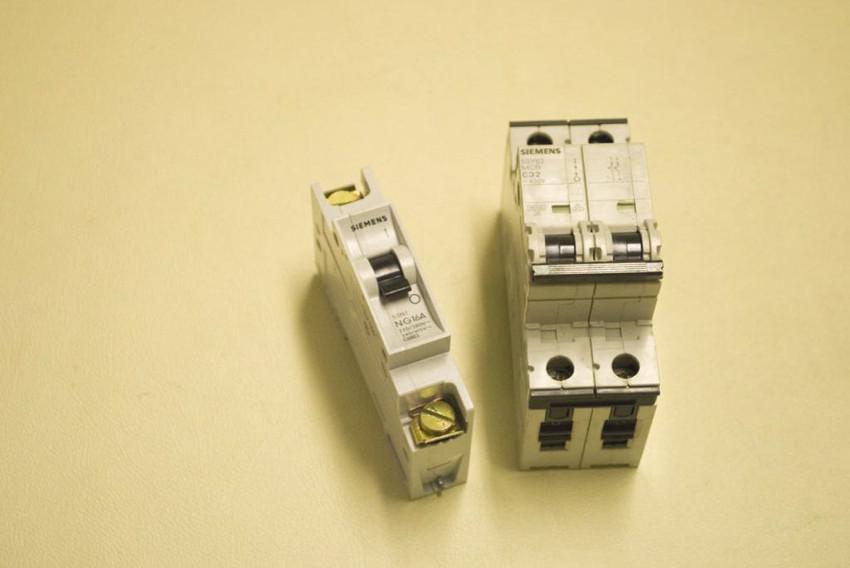 interruttori automatici - amp. vari