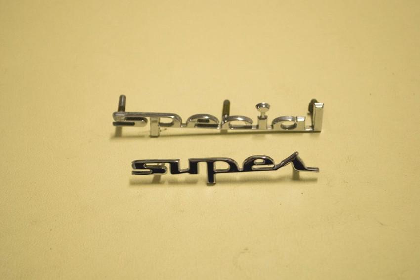 lettere Super & Special per nomi murata