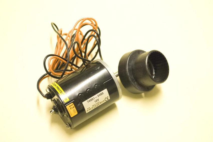 motorino WC - 12 & 24 volts