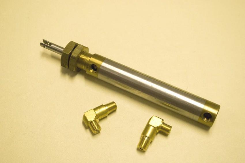 pistone flap in acciaio - modelli vari
