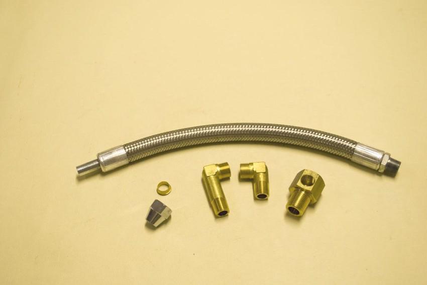 raccordi per tubo flessibile olio - misure varie