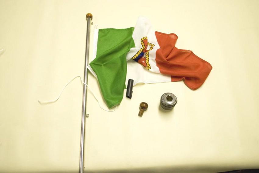 boccola asta bandiera