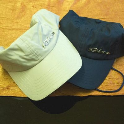 hat with chromed Riva logo