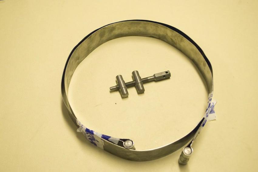 fasce con tirante fissaggio serbatoio (misure varie)