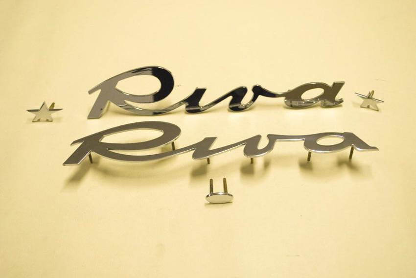 lettere Riva per murate (modelli vari)