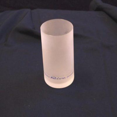 bicchiere Riva cristallo satinato