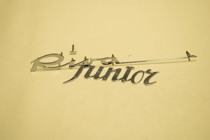 scritta Riva con nome scafo