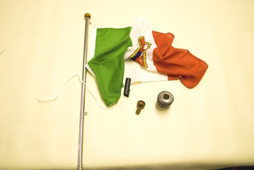terminale plastica asta bandiera